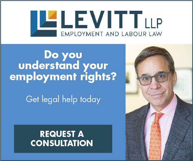 Levitt April 2017 Ontario Employment Law Topic 603