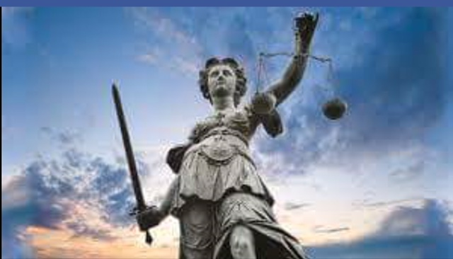 lady justice alone