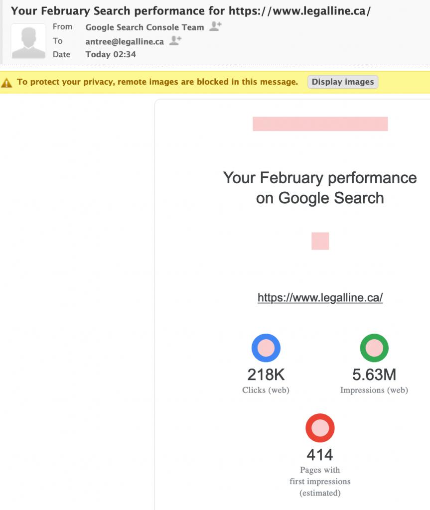 google 5.65 Million