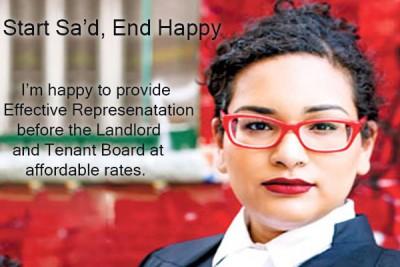 Caryma Sa'd Landlord Ontario All topics March 17, 2018