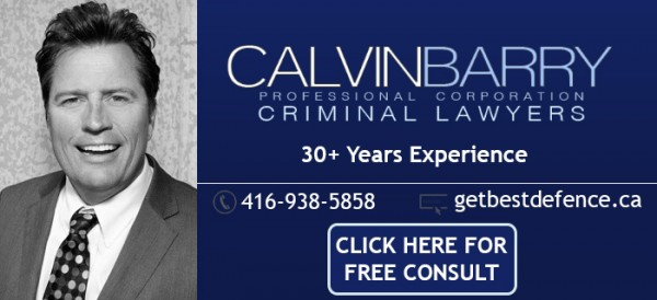 Calvin Barry Criminal ON May 2018