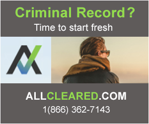 All Cleared Criminal Records ON