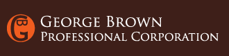George Brown Professional Corporation Small Claims