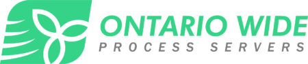 Ontario Wide Process Servers Services for Lawyers TOC ON